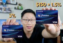 Photo of Chase Freedom Unlimited 1.5% Cash Back Rewards Card – Bad Credit Wizards Review
